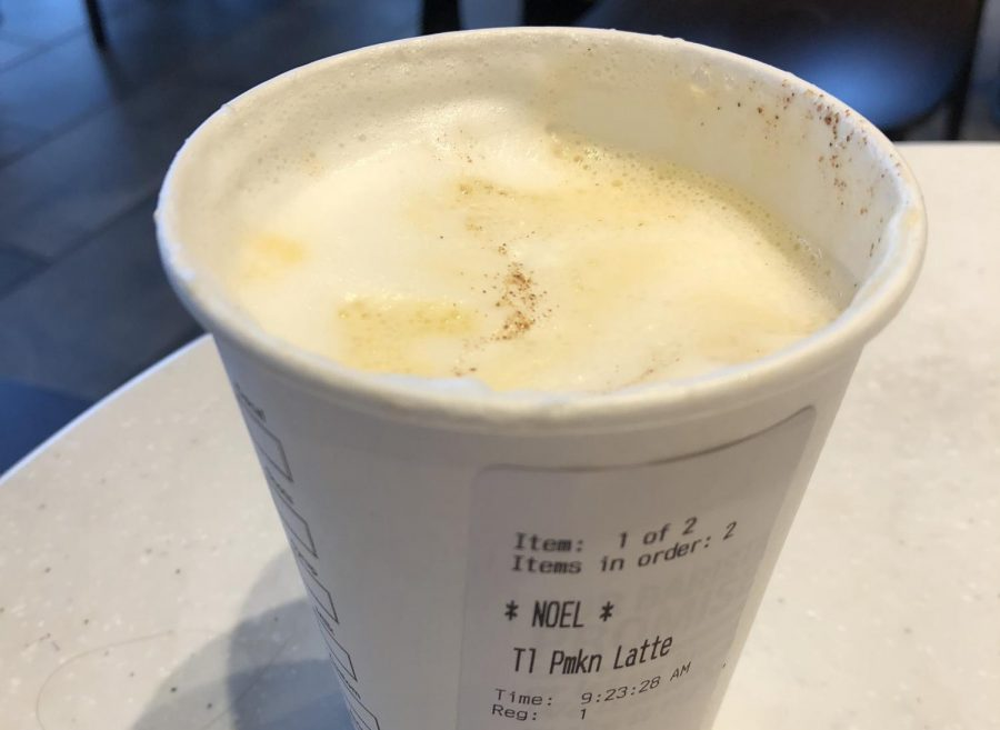 My pumpkin spice latte.