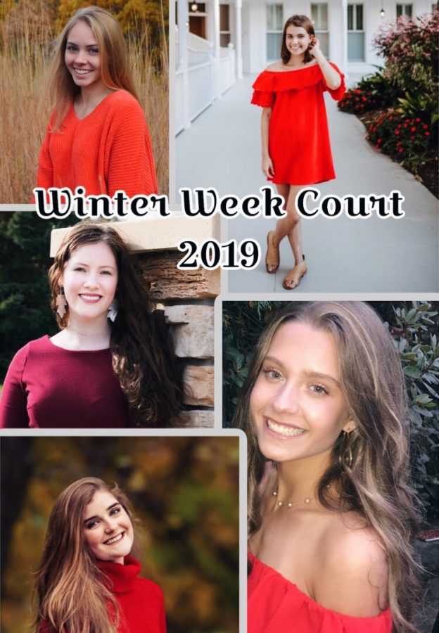 Meet Your Winter Week Court!