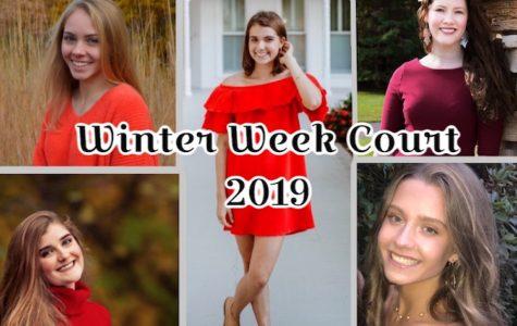 Meet Your Winter Week Court!