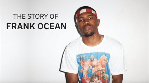 Frank Ocean stands in front of a blank wall (google images).