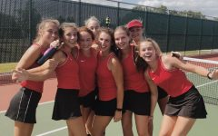 Visitation Tennis – one of the largest teams in the state