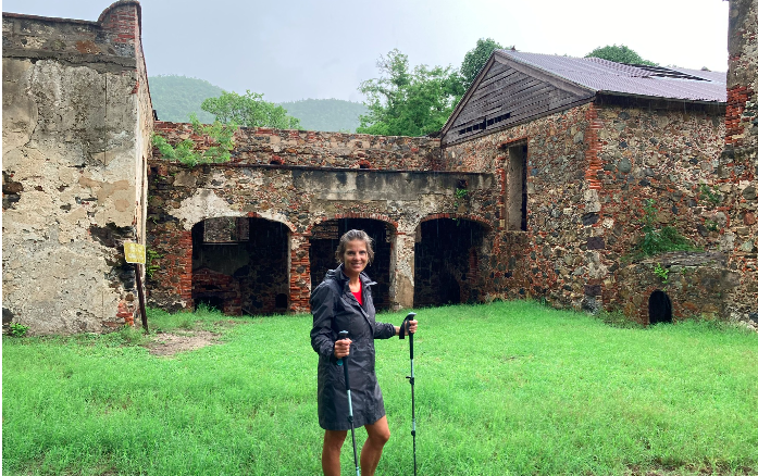 From Rogers Lake to the Atlantic Ocean: Ms. Arnstein's Life in the Virgin Islands