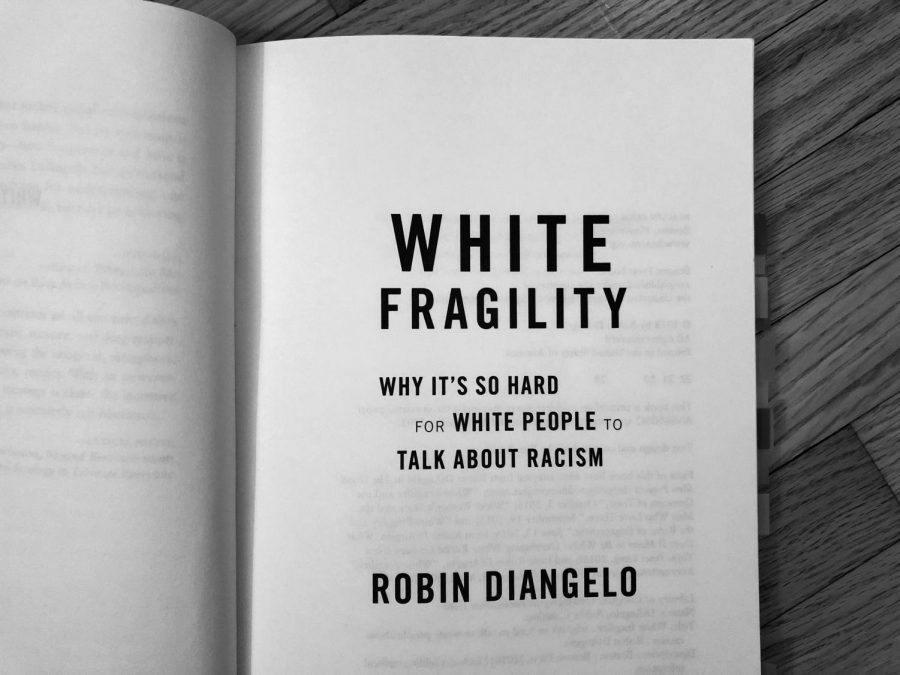 The cover page of my personal copy of White Fragility, by Robin DiAngelo