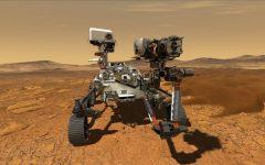 Perseverance arrives on Mars. Photo courtesy of NASA.